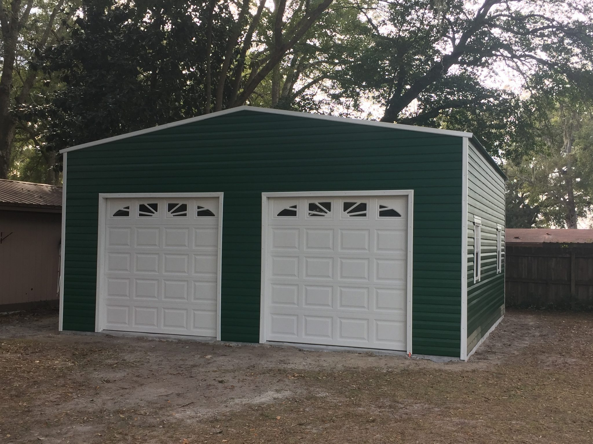 Custom Portable Garages Florida | Bestway Portable Buildings