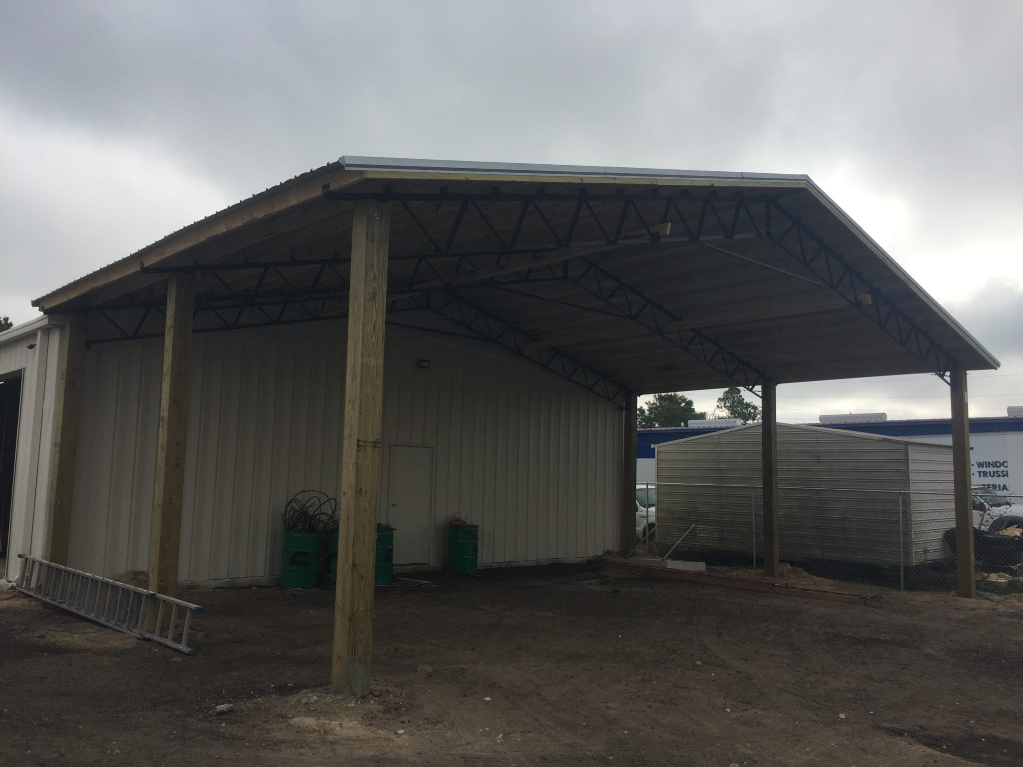 homemade building for truss maine best carport alabama this metal ing trusses system youtube decor kits used sheds wood barn need manufacturers fl home steel drawing pole menards craigslist prices barns gainesville kit strouds roof pipe v x with